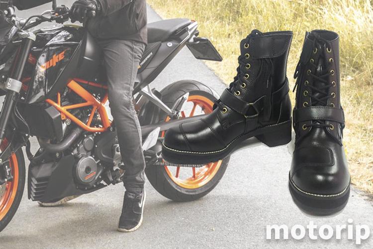 【足つき改善】ワイルドウィング 厚底 ファルコン|足の長さがアップするブーツ!