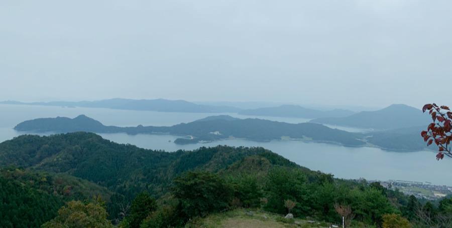 成相山パノラマ展望台