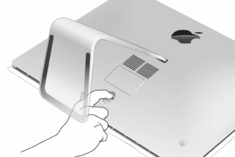 iMac 27インチ メモリ増設手順|フタを開ける