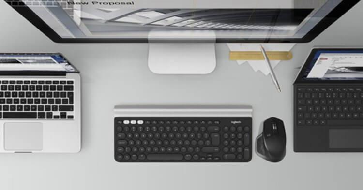 ロジクールキーボード FLOW機能が便利