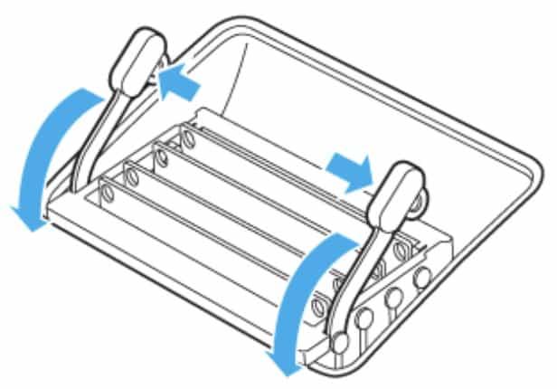 iMac 27インチ メモリ増設手順|レバーの取り外し