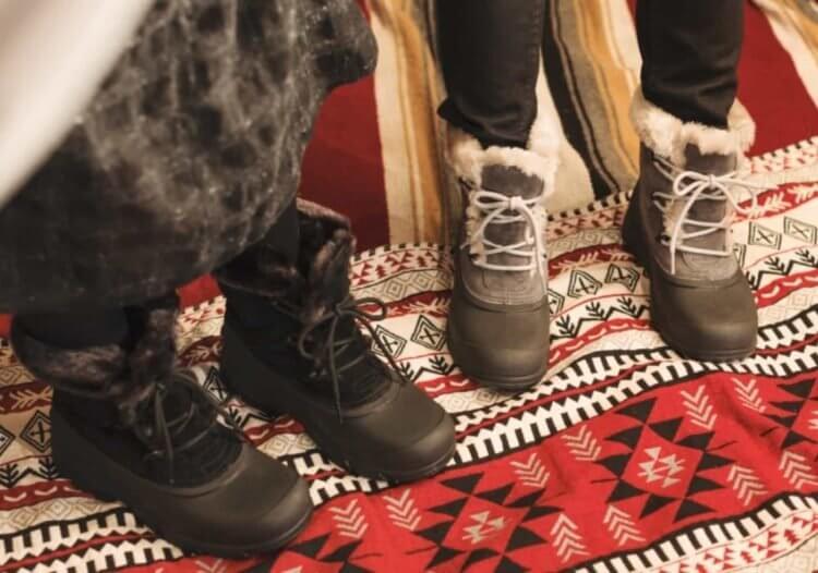 ソレルは防寒ブーツの定番