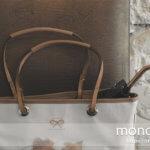 バッグの持ち手が傷んだら修理・交換よりハンドルカバーが高見えする!